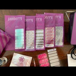 Jamberry nail set.